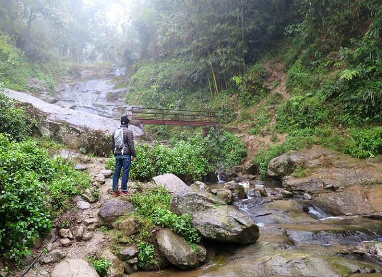 waterfall in sapa vietnam