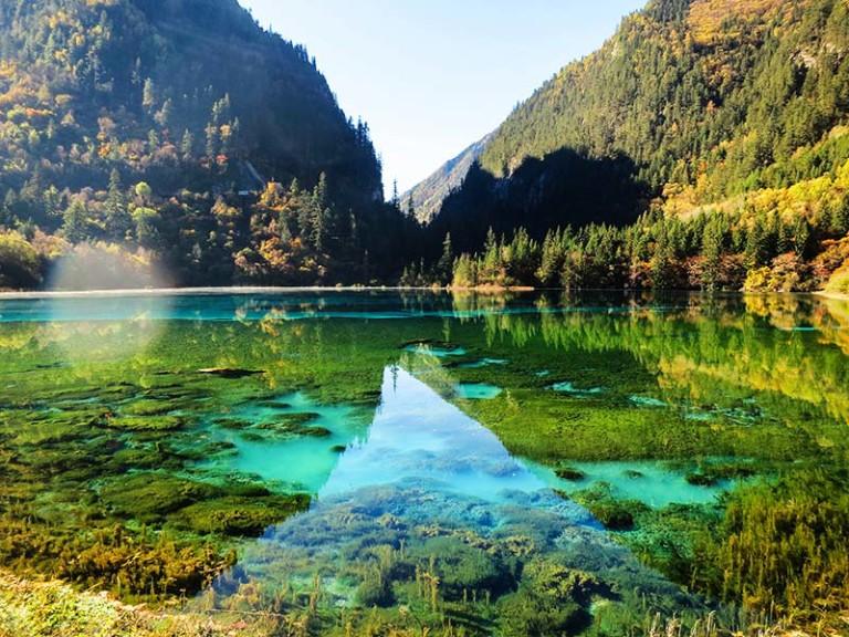 Jiuzhaiguo Lake in China