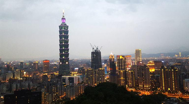 Elephant Mountain in Taipei