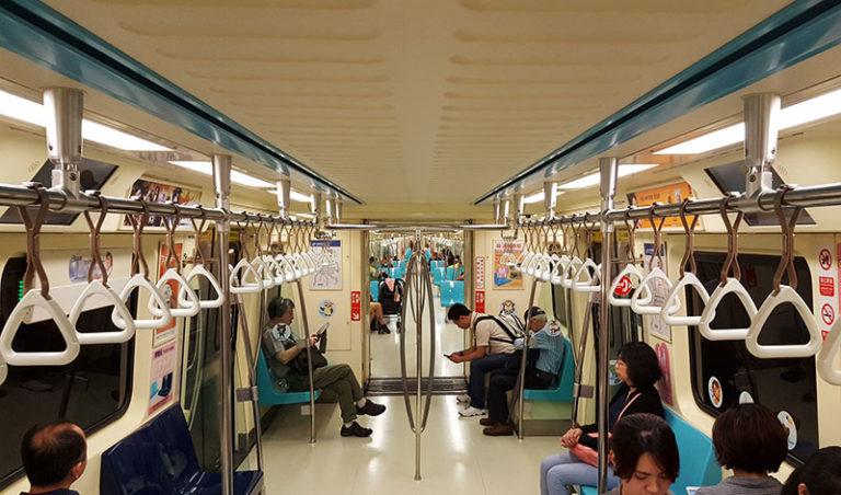 MRT Subway in Taipei