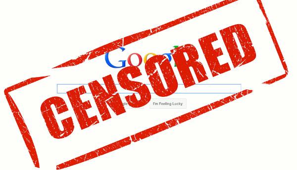 Google censorship in China